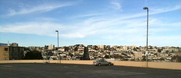 San Francisco parking lot