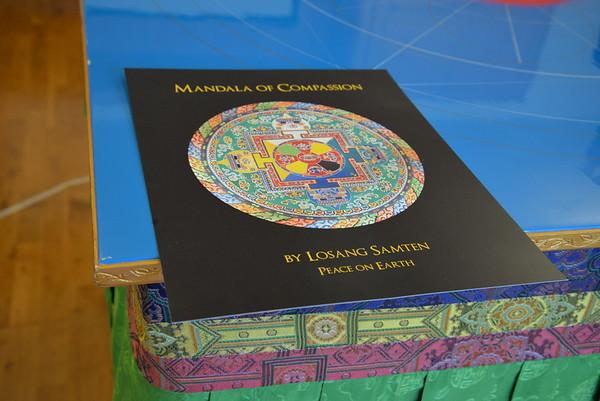 Sand Mandala Project Featuring Losang Samten