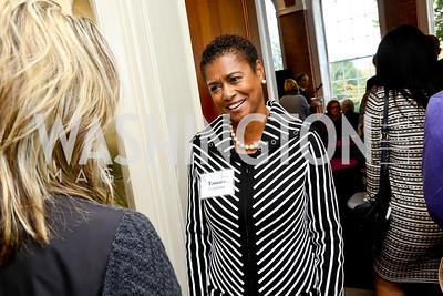 Tamara Copeland. Photo by Tony Powell. S&R Foundation's Illuminate. Evermay Estate. November 6, 2014
