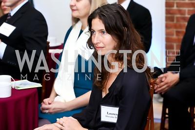 Lauren Shweder Biel. Photo by Tony Powell. S&R Foundation's Illuminate. Evermay Estate. November 6, 2014