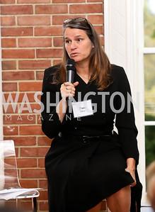Pam Hess. Photo by Tony Powell. S&R Foundation's Illuminate. Evermay Estate. November 6, 2014
