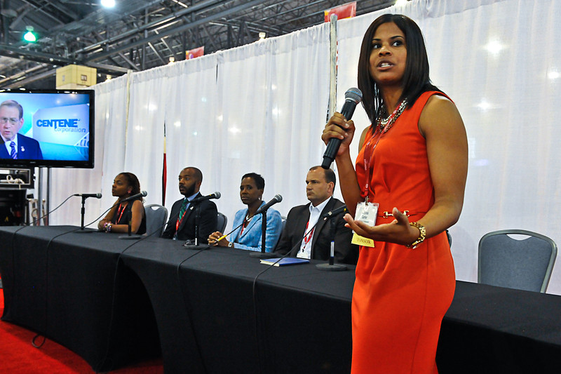 Expo at The National Urban League Conference in Philadelphia, Friday, July 26, 2013. Photo by Mark Gail.