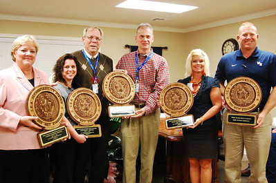 All campus principals with awards