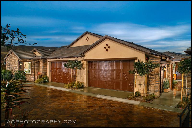 Sendero Clubhouses, Rancho Mission Viejo, CA, 2/12/14.
