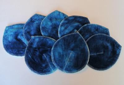 "ONE Pair of Super Soaker Nursing Pads - ""blue berry�"