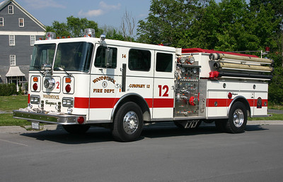 Former Wagon 12 was this 1990 Seagrave JB, 1250/1000.  Sold to Springfield, Arkansas in 2013.