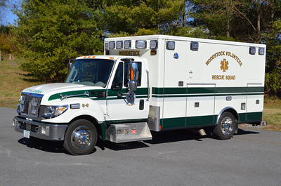 Woodstock Volunteer Rescue Squad - 5-8:  A 2014 International TerraStar/Road Rescue.