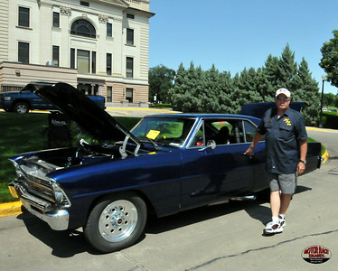 Show 'n Shine, 25th Annual Pierre Street Masters Dam Run, Pierre, SD, August 9, 2014