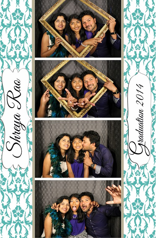 Shreya's Graduation Party 6.15.14 Photo Strips
