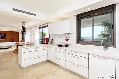 צילום אדריכלות: דירה בתל-אביב. אדריכלות: בלה שטיינברגנגרות: רומנס