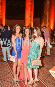 Alyssa Farrah, Ava Deylami, Rachel Kennedy,  22nd Annual Sinatra Soiree, hosted by the Capital Club, at the National Building Museum, Thursday July 17th, 2014.  Photo by Ben Droz.