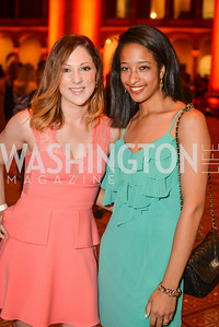 Kiley Sotomayor, Britne Tyler, 22nd Annual Sinatra Soiree, hosted by the Capital Club, at the National Building Museum, Thursday July 17th, 2014.  Photo by Ben Droz.