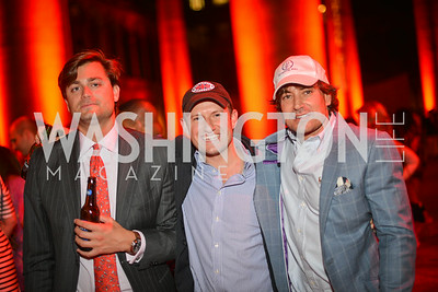 Michael Brody, J. R. Edward, David Tafuri,  22nd Annual Sinatra Soiree, hosted by the Capital Club, at the National Building Museum, Thursday July 17th, 2014.  Photo by Ben Droz.