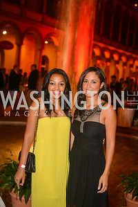 Morgan Evans, Melanie Potts, 22nd Annual Sinatra Soiree, hosted by the Capital Club, at the National Building Museum, Thursday July 17th, 2014.  Photo by Ben Droz.