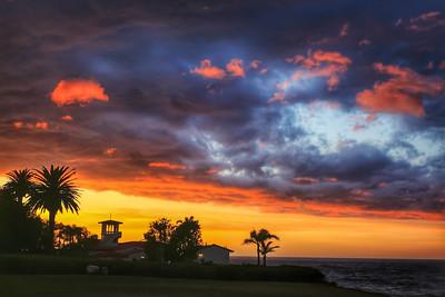 Malaga Cove Sunset