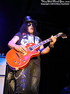 Slash Featuring Myles Kennedy and the Conspirators perform at the Casino Ballroom in Hampton Beach, NH on July 9, 2014