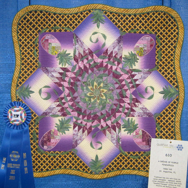 First Place<br /> A Dream of Purple Pineapples<br /> Nikki Hill