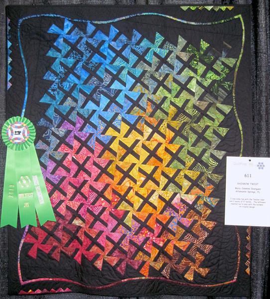 Judge's Recognition<br /> Rainbow Twist <br /> Mary-Jennine Ibarguen