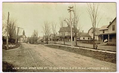 Main St. St.Regis Falls N.Y.