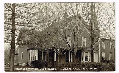 The R.G. Parish Residence, St.Regis Falls, N.Y.