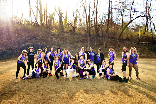 Smoky Mountain Roller Girls 2014
