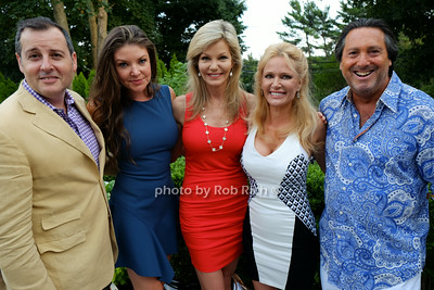 Steven Knobel,Nicole Noonan, Julie Hayek, Leesa Rowland, Larry Wohl photo by Rob Rich © 2014 robwayne1@aol.com 516-676-3939