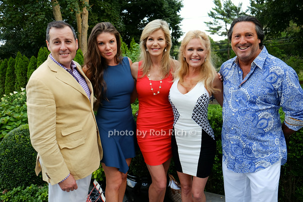 Steven Knobel,Nicole Noonan, Julie Hayek, Leesa Rowland, Larry Wohl<br /> photo by Rob Rich © 2014 robwayne1@aol.com 516-676-3939