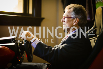 Former Senator Tom Daschle,  Sony and the ESA celebrate the Playstation 4 Carnegie Library.  Photo by Ben Droz.