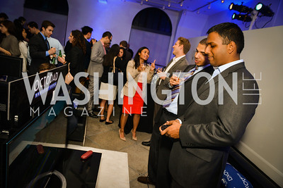 Jay Sinha, Sony and the ESA host a celebration for Playstation 4 at Carnegie Library.  April 2nd 2014.  Photo by Ben Droz .