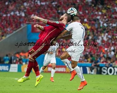 Sergio Ramos, Alexis Sanchez