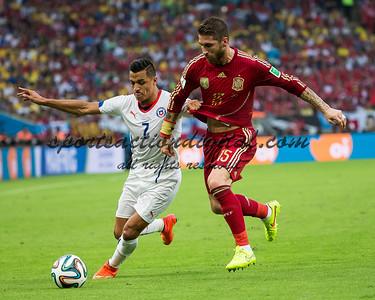 Alexis Sanchez, Sergio Ramos