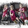 Sydney Bonneville Soccer Word Art