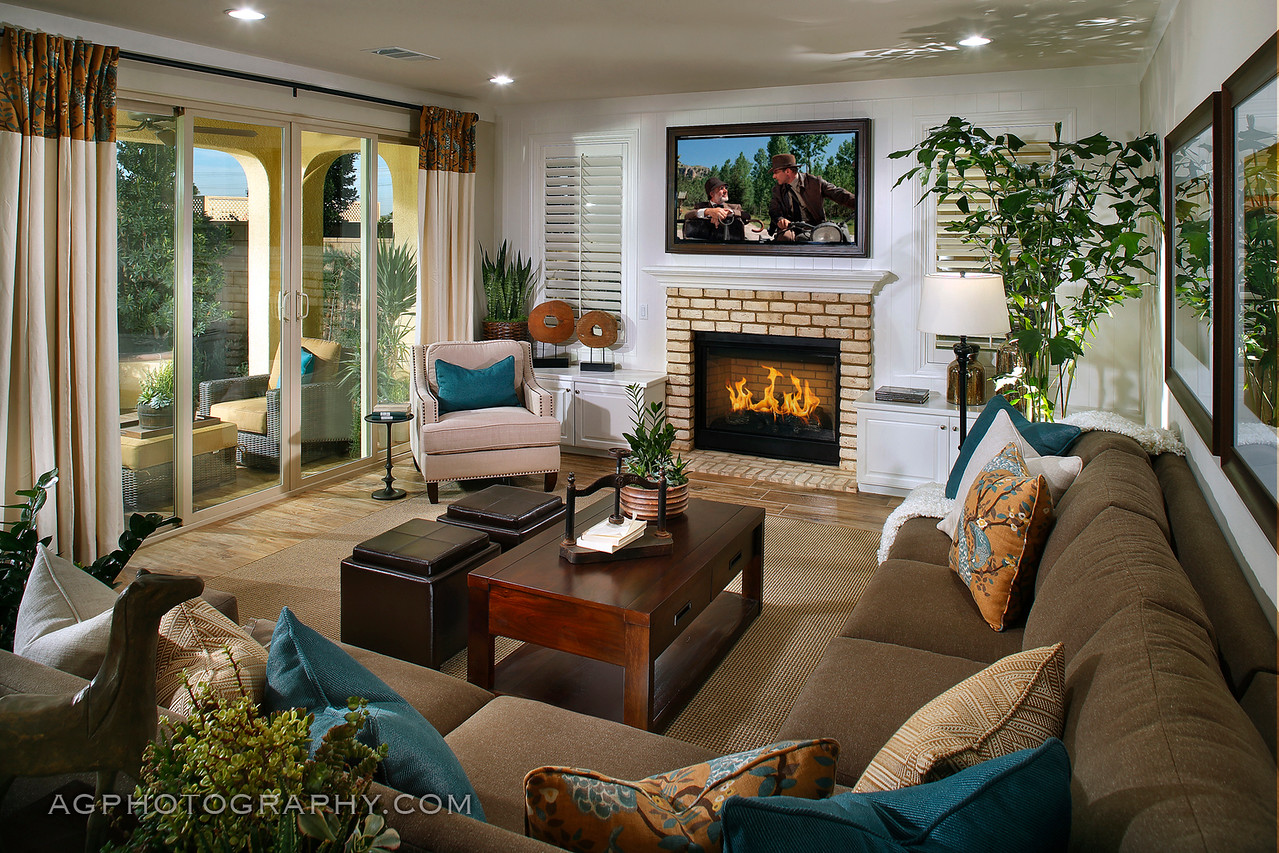 St. James Models by Tri Point Homes, Chino, CA, 12/4/14.