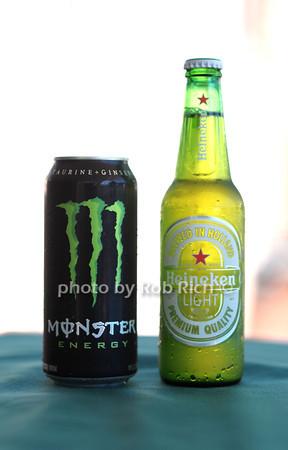 Monster Energy, Heineken LIght