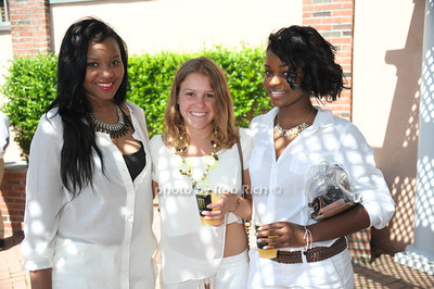 Binta Barry, Amanda Fusiello, Keiana Burton photo by Rob Rich/SocietyAllure.com © 2014 robwayne1@aol.com 516-676-3939