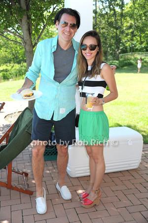 Ian Gerard, Kristina Lopez photo by Rob Rich/SocietyAllure.com © 2014 robwayne1@aol.com 516-676-3939