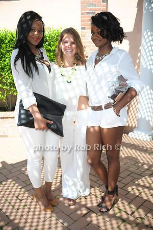 Binta Barry, Amanda Cusiello, Keiana Burton photo by Rob Rich/SocietyAllure.com © 2014 robwayne1@aol.com 516-676-3939