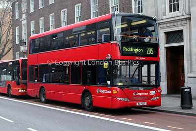 15100, 527CLT, Stagecoach in London
