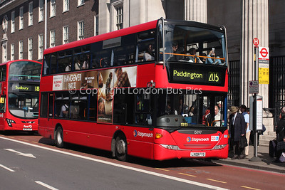 15097, LX09FYS, Stagecoach in London