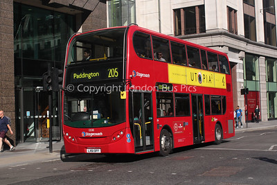 12130, LX61DFF, Stagecoach in London