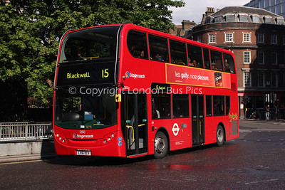 12150, LX61DCV, Stagecoach in London