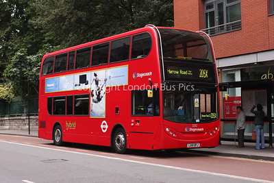 12132, LX61DFJ, Stagecoach London