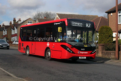 36620, YX16OLA, Stagecoach London