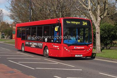 36551, LX12DKD, Stagecoach London