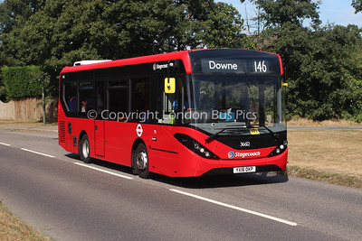 36612, YX16OKP, Stagecoach in London