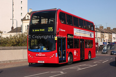 10122, LX12DDU, Stagecoach in London