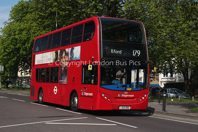 10121, LX12DDO, Stagecoach London