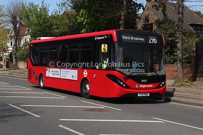36601, YY15OWU, Stagecoach in London