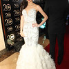 Cebuana actress Kim Chiu, in her old Hollywood inspired Edwin Tan gown, arrived with love team Xian Lim. (Allan Sancon/Sunnex)