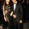New couple Paul Jake Castillo and Melissa Ricks arrived together at the Star Magic Ball. Melissa was wearing a black Cherry Veric gown. (Allan Sancon/Sunnex)